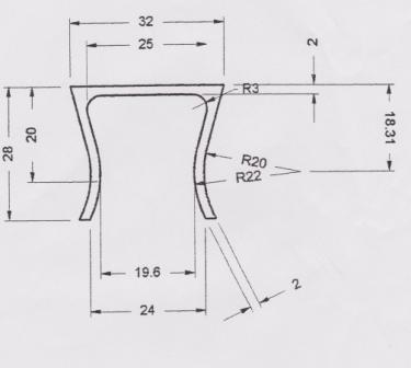 Concrete Seal Dimensions